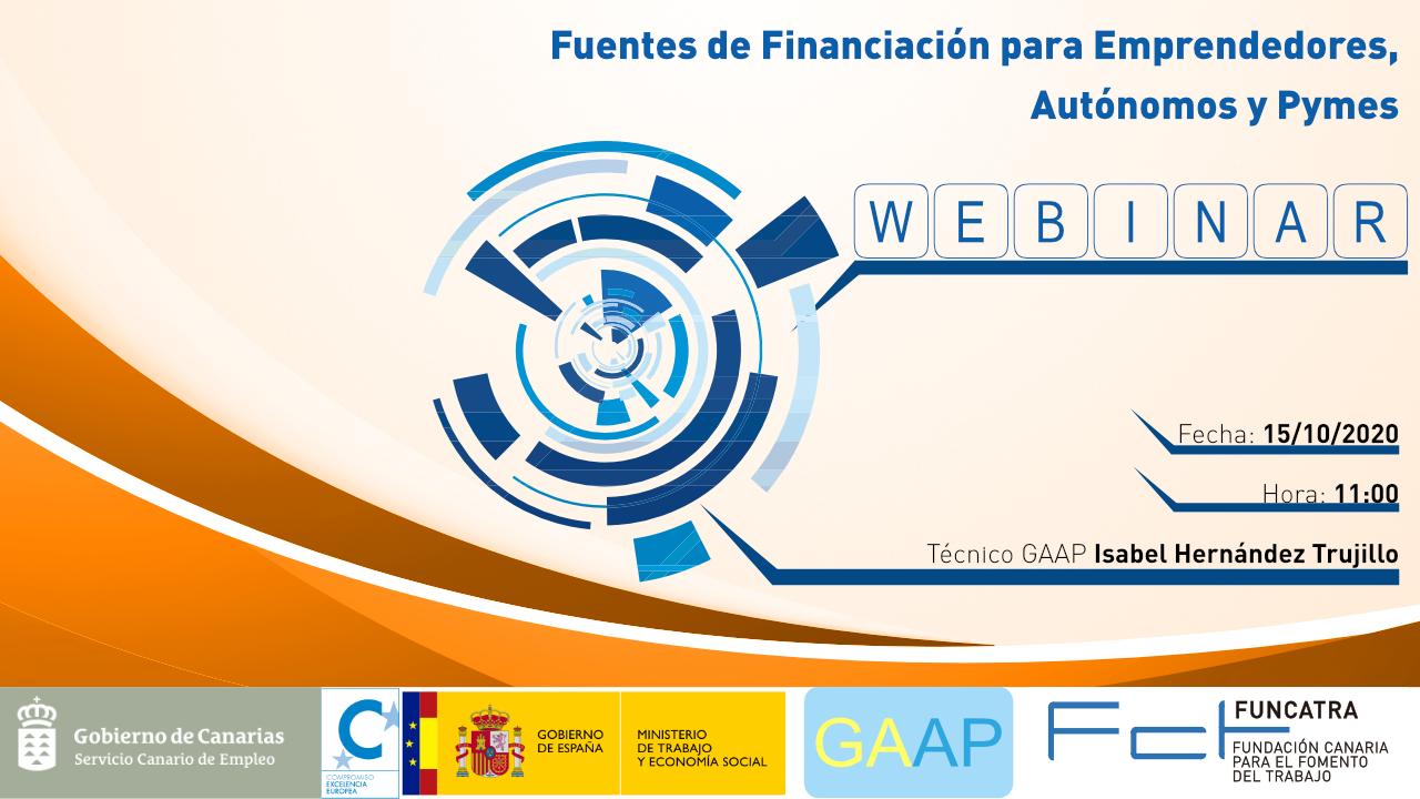WEBINAR GAAP financiacion